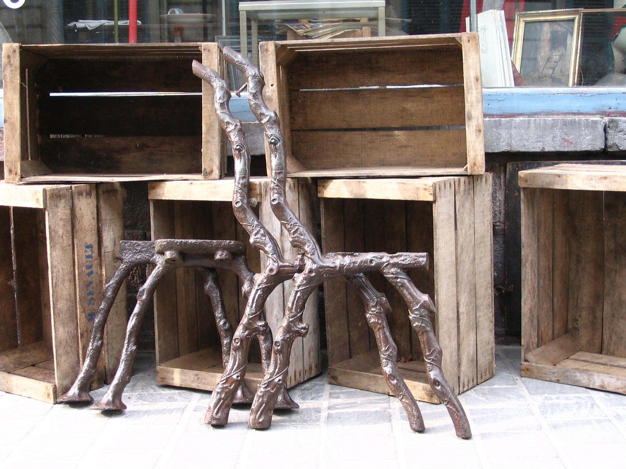 Antiquites Belbezier Mobilier Ancien En Fonte Art Deco