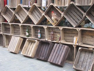 antiquites belbezier caisse caissette casier ancien bois xx si cle. Black Bedroom Furniture Sets. Home Design Ideas